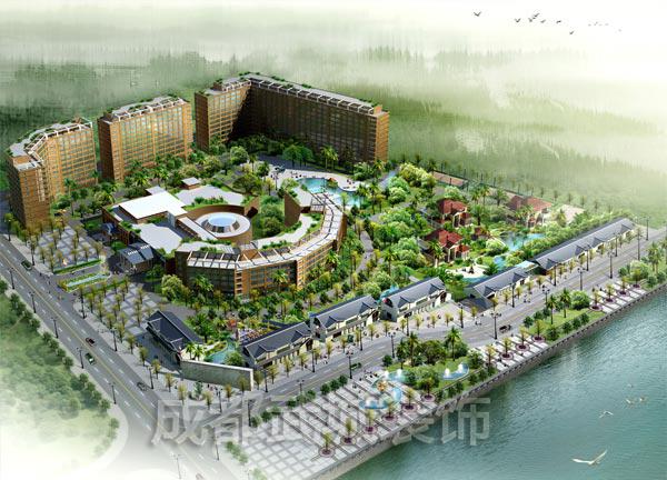 德阳锦江宾馆幕墙工程
